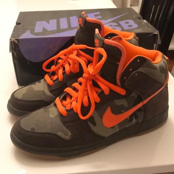 best website ea268 65b1a Nike Dunk SB Dunk High Brian Anderson Camo